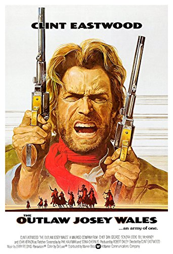 Buy vintage outlaw josey wales poster