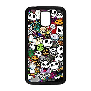 DIY Fashion The Nightmare Before Christmas Hard Shell Snap-on Slim Phone Case Cover for Samsung Galaxy S5 i9600