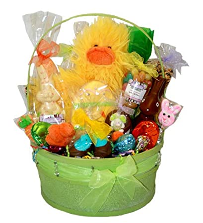 Amazon happy easter gourmet gift basket x large grocery happy easter gourmet gift basket x large negle Images