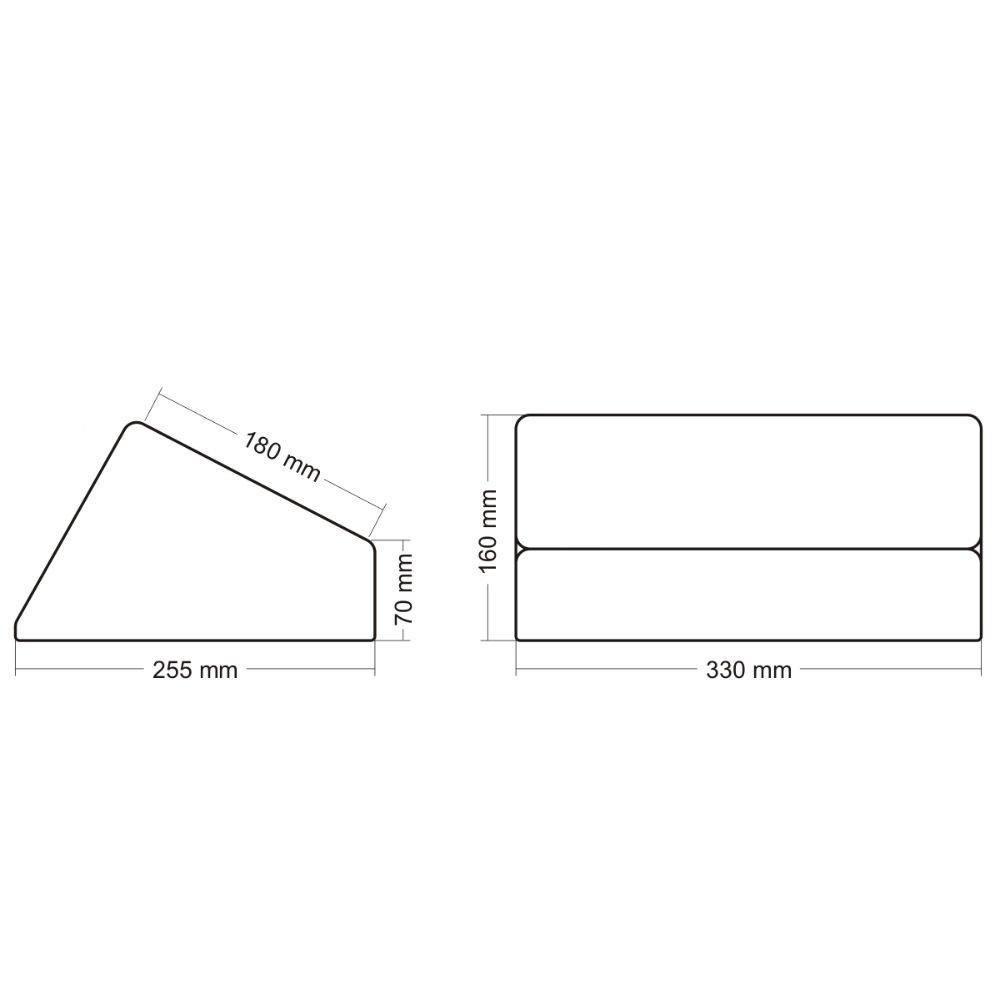 f/ür 6x9 5L Maxxcount Geschlossenes Subwoofer-Leergeh/äuse ohne /Öffnung