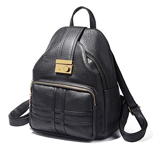Sac souple à Jaune en Noir cuir Leisure Ywjhy Taille à Trend mode la bandoulière unique wqgP0fE