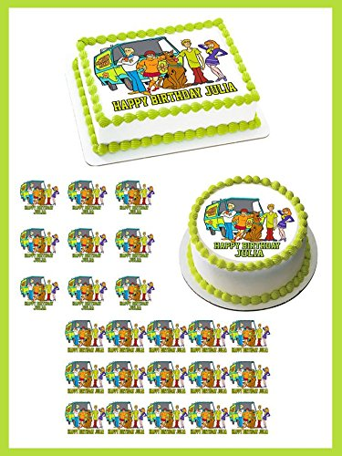 Scooby-Doo - Edible Cupcake Toppers - 1.8