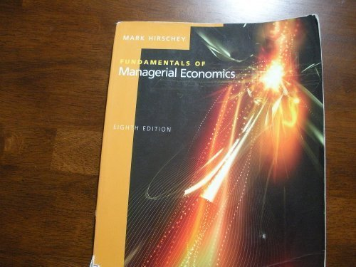 Fundamentals of Managerial Economics 8TH EDITION