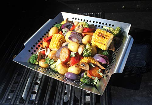 Grill Vegetables Stainless Charcoal Complete