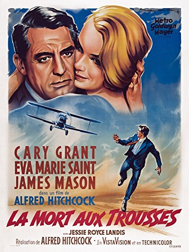 Posterazzi EVCMMDNOBYEC016LARGE North by Northwest Movie Poster Masterprint, 24 x 36