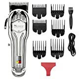 SURKER Mens Hair Clippers Cord Cordless Hair Trimmer Professional Haircut & Grooming Kit For Men Rechargeable LED Display