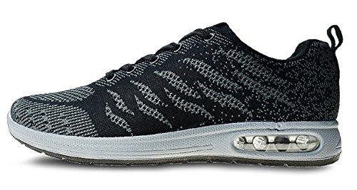 Schuhe Sneaker Bequeme Schwarz Damen Laufschuhe Herren Sportschuhe Turnschuhe Z U4Y1Uw