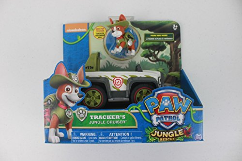 Review Nickelodeon Paw Patrol Jungle Rescue Tracker's Jungle Cruiser Set