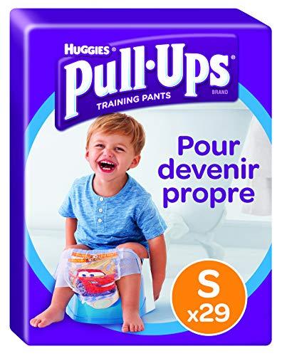 Huggies Pull-Ups Mutandine di Apprendimento per Bambino, Taglia S (8-15 kg), 29 Pezzi 1
