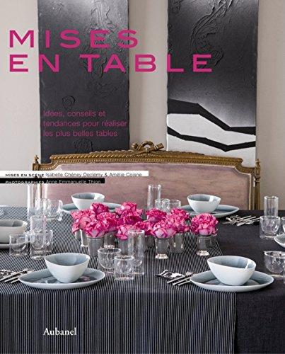 Mises en table Isabelle Chéney Declémy