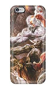Unique Design Iphone 6 Plus Durable Tpu Case Cover God Of War 2 Game Hdtv