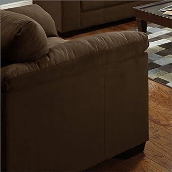Amazon Com Simmons Upholstery Luna Chair And A Half