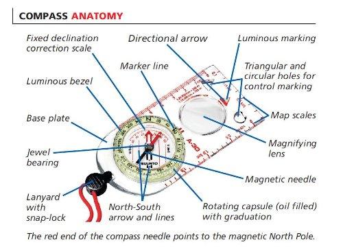 Suunto A 30L Field Compass