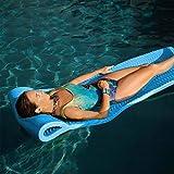 Pool Mate X-Large Foam Mattress Swimming Pool Float, Marina Blue