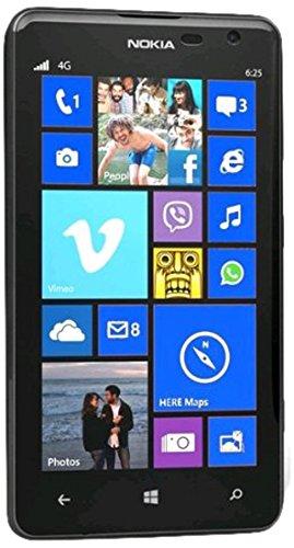 Nokia Lumia 625 Windows Phone 8GB - Unlocked - Retail Packaging - (Black)