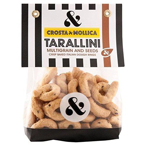 Crosta & Mollica Tarallini Multigrain & Seeds 170g (Pack of 6)