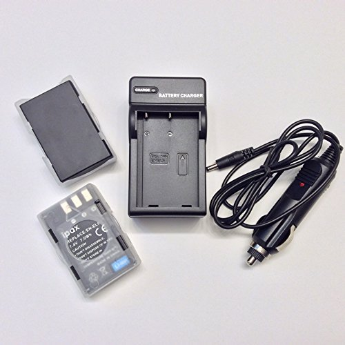 Two Battery + Home&Wall Charger + Car Plug Kit for Nikon EN-