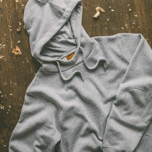 Scruffs Mens Worker Hoodie Grey Marl