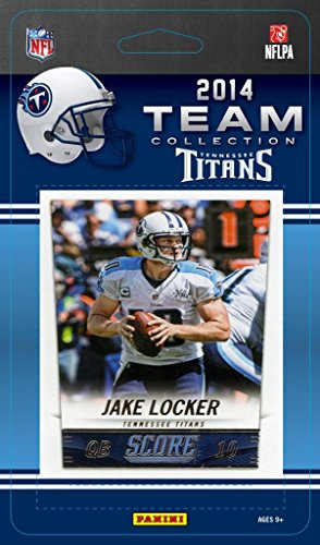 Score Tennessee Titans Nfl Card (2014 Score Tennessee Titans NFL Football Factory Sealed 10 Card Team Set Including Jake Locker, Zach Mettenberger Plus)