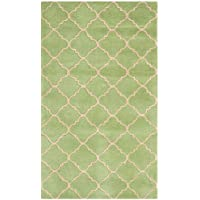 Safavieh Chatham Collection CHT935B Handmade Green Premium Wool Area Rug (3 x 5)