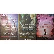 Shadow Falls Series Books 1-5 Complete Set (Born at Midnight; Awake at Dawn; Taken at Dusk; Whispers at Moonrise; Chosen at Nightfa...)