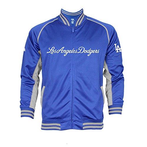 MLB Los Angeles Dodgers Men's Fashion Track Jacket, XX-Large, Royal (Los Angeles Dodgers Fashion)