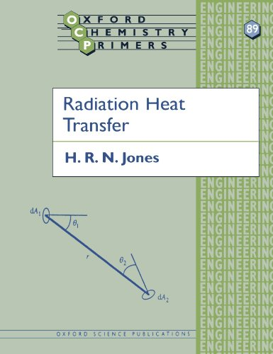 Radiation Heat Transfer (Oxford Chemistry Primers)