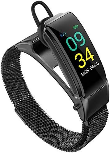 WLLIT Smart Watch,Smart Wristband Strap,2019 New Smart Bracelet Blood Pressure Heart Rate Sports Step Sleep Monitoring Bluetooth Headset Combo Call,Fitness Watch-c1