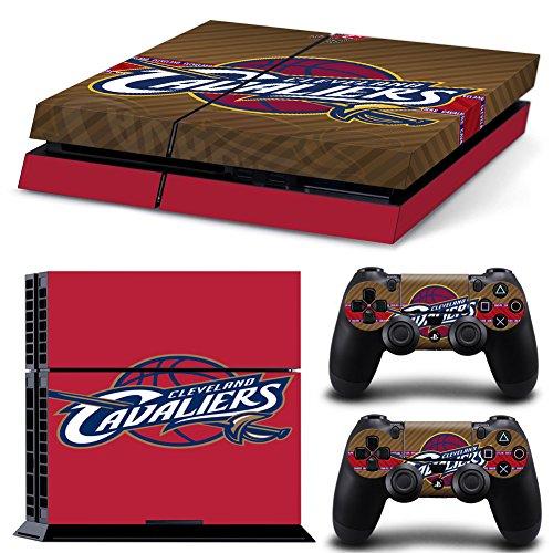 FriendlyTomato PS4 Console and DualShock 4 Controller Skin Set - Basketball NBA - PlayStation 4 Vinyl