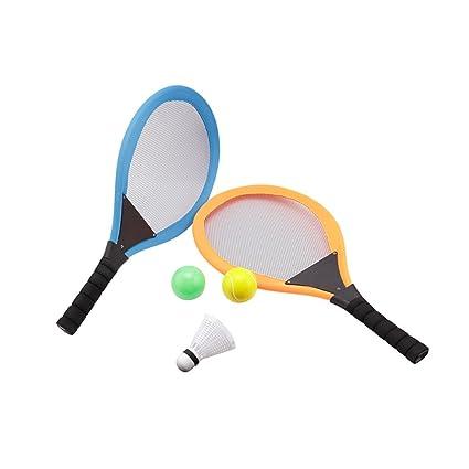 Juego de Raqueta de Bádminton 2 en 1 para Niños, para Uso en Interiores y