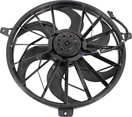 Amazon Com Cpp Single Cooling Fan For 2004 Jeep Grand Cherokee