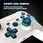 Wired-Controller-for-Xbox-One-Wired-Xbox-one-USB-Gamepad-Controller-Compatible-with-Xbox-OneSXPC-Windows-7810-with-35mm-Headset-Audio-JackWhite