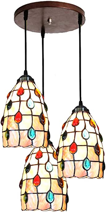 Foiled Paper 5 inch Chandelier Lamp Shade 3 Colors