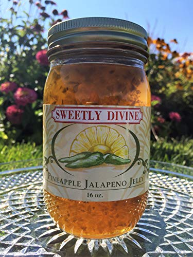 Sweetly Divine Hot Pepper Jelly (Pineapple Jalapeno)