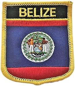 Parche de la bandera de Belice: Amazon.es: Juguetes y juegos
