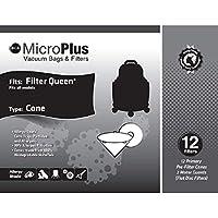 Filter Queen MICROPLUS Cones 12 PACAK