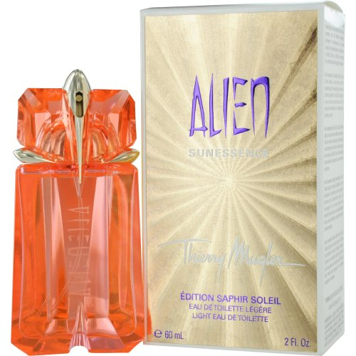 Thierry Mugler Alien Sun Essence Eau De Toilette Spray for Women, Light, 2 Ounce