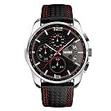 Relojs relogio relojes reloj de hombre men masculino acero inoxidable digital de marca quartz negro. Regalos para papa regalos de hombre y para novios.
