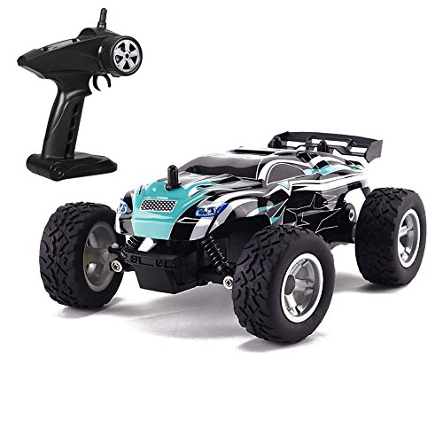 Zlimio 1/24 Scale High Speed Remote Control RC Racing Off-road Car Kids Children Toy 2.4Ghz Radio Remore Control Support Multiple Car (Car 100 Rc Dollar)