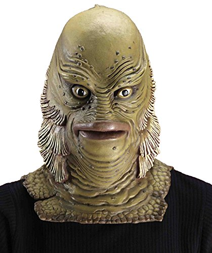 Forum Novelties Men's Universal Monster Creature From The Black Lagoon Mask, Multicolor, One Size