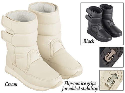 Boot Collections Slip Etc Lined Cream Fleece Resistant Winter wn4BPOUxqn