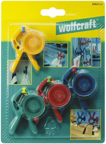 Wolfcraft 1/Microfix Clamp with Suction Cup 3638000