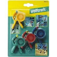 Wolfcraft 3663000 3663000-4 Pinzas de Bricolaje microfix