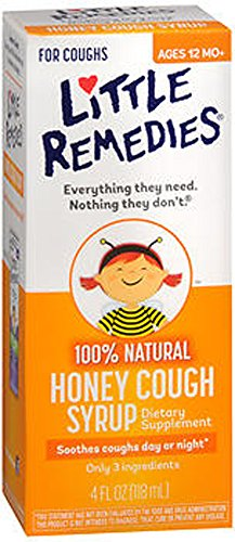 Little Colds Honey Elixir  4-Ounce