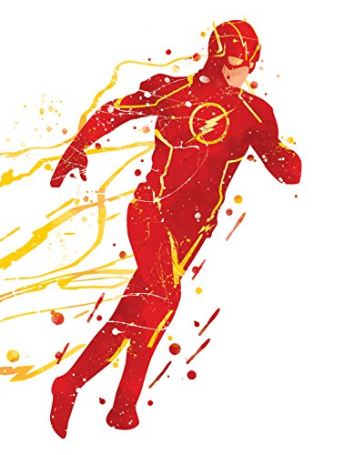 Flash Poster - Inspired watercolor illustration Avengers print P07