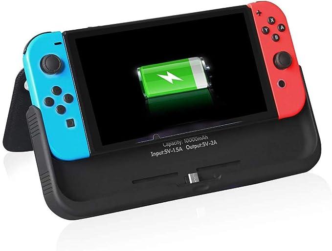Nintendo Switch Case con cargador, 10000mAh Power Bank para ...