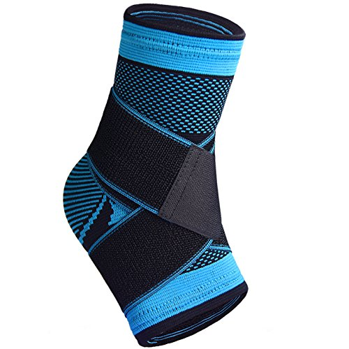 Plantar Fasciitis Sock with Arch Support, Eases Swelling, Achilles Tendon & Ankle Brace Sleeve with Compression Effective Joint Pain Foot Pain Relief from Heel Spurs -Single