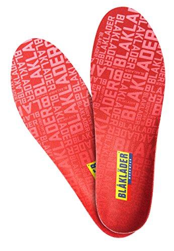 Blakläder 22170000560039/40Tapones de plantilla de calor de tamaño 39/40, color rojo
