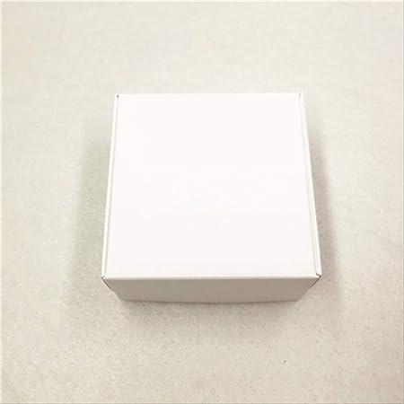 Caja Regalo Bonitas Para 20pcs Cajas De Almacenamiento De Cartón De Papel Kraft Con Ventana Caja De Regalos Para Productos/Favores Regalos Caja De Embalaje Cajas Populares Blanco: Amazon.es: Hogar