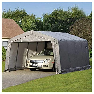 Shelterlogic 12x16 Pop Up Garage Shed